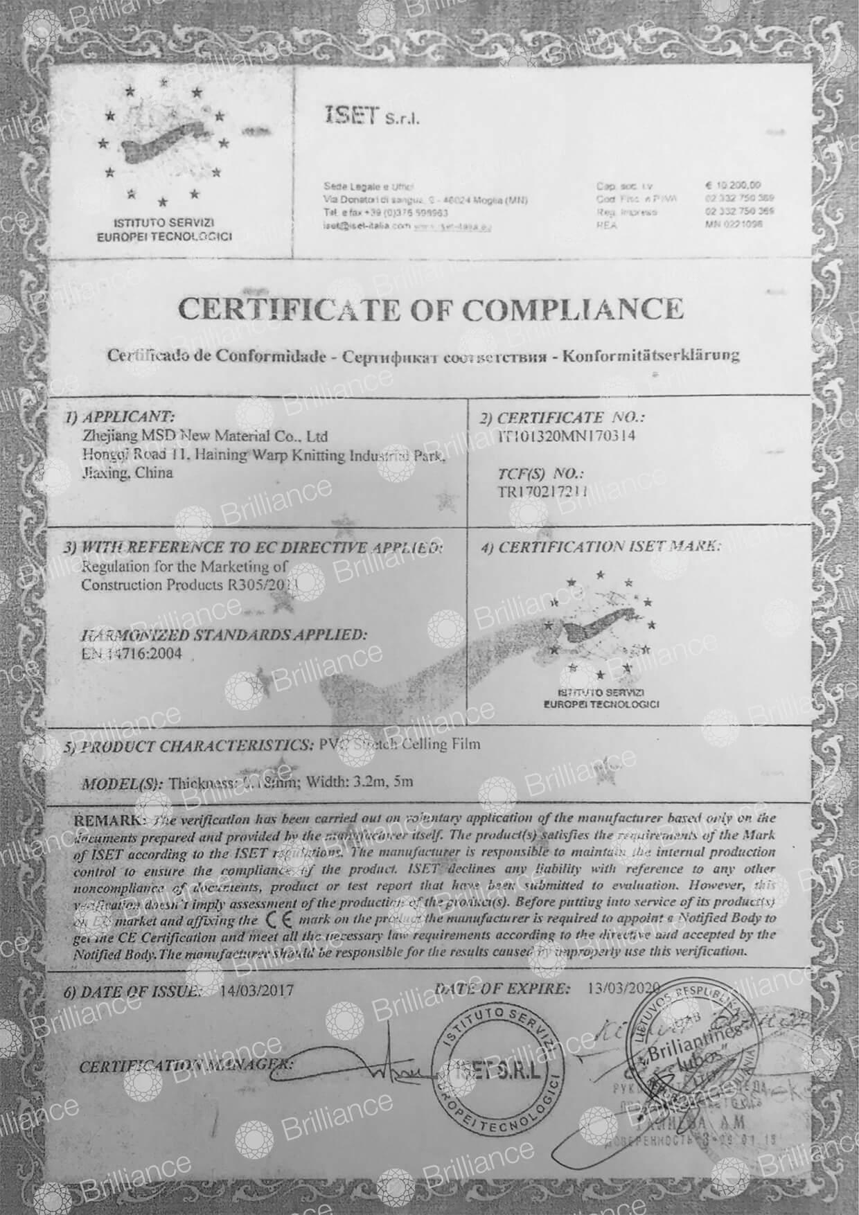itempiamos lubos sertifikatas
